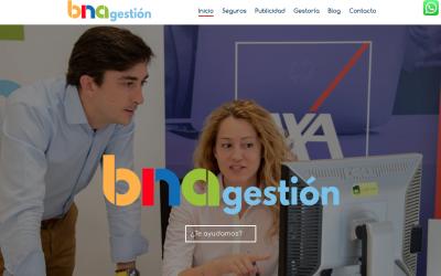 Janubaweb actualiza a web de BNA Gestión