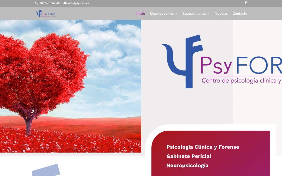 JANUBAWEB crea la web de PsyFORIS
