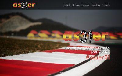 JANUBAWEB crea el logo y web de ASIER31